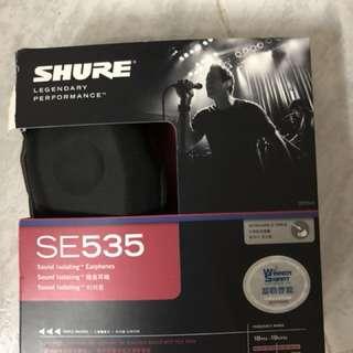 Shure se535 耳機