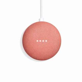 Google Home Mini Local Warranty- Coral Red / Pink