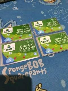 Smart Call & Text Prepaid Card (500/100)