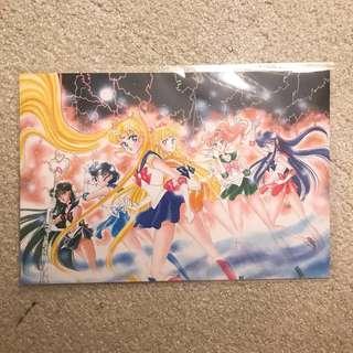 美少女戰士展 明信片 sailor moon postcard