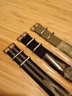 Nato straps 22mm