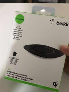 Belkin wireless charging pad (brand new, sealed)