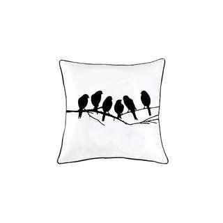 Aqua home 黑白鳥兒抱枕