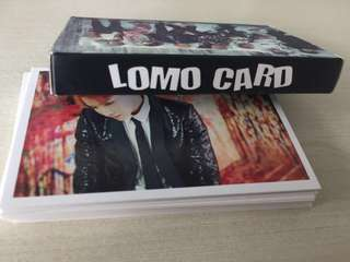 BTS lomocards