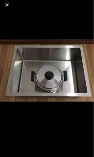 Stainless steel 304 1.2 mm kitchen sink Promotion