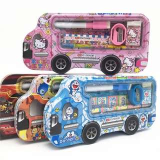 🚚 Stationery set (Doraemon, hello kitty, Cars, tsum tsum)