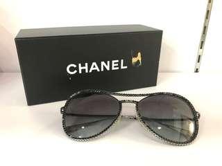 CHANEL sunglasses rhinestone