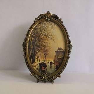 Vintage Italy photo frame