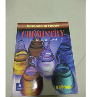 Chemistry for secondary o-level
