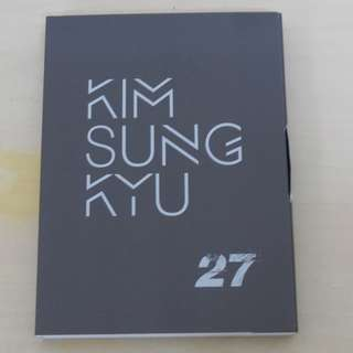 [CD UNSEALED/NO PHOTO CARD/SMALL SCRATCHES][READY STOCK]INFINITE SUNGGYU KOREA MINI ALBUM; ORIGINAL FR KOREA (PRICE NOT INCLUDE POSTAGE)PLEASE READ DETAILS FOR MORE INFO; POSLAJU:PENINSULAR AREA :RM10/SABAH SARAWAK AREA: RM15