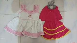 Dresses for 6-18m old