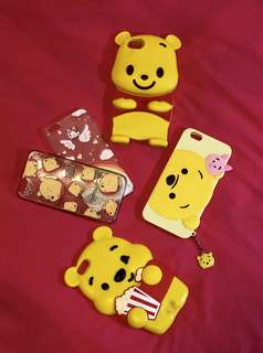 Winnie the Pooh Iphone 6+ cases ✨ ALL 5 FOR $10 ONLY