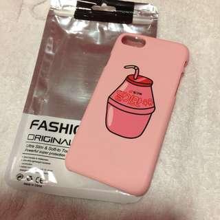 🌷brandnew🌷 Iphone 7 Strawberry Milk Korean Pink Hard Case