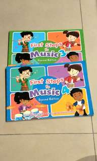 First Steps to Music 3 & 4 primary textbook