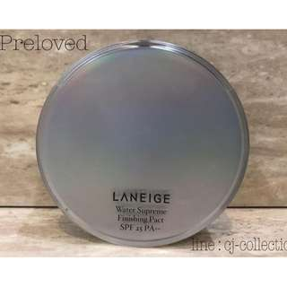 LANEIGE WATER SUPREME FINISHING PACT SPF25 SAND BEIGE - LANEIGE POWDER