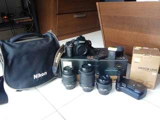 Nikon D5100 multi lens