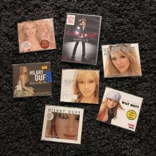 Hilary Duff CD pack