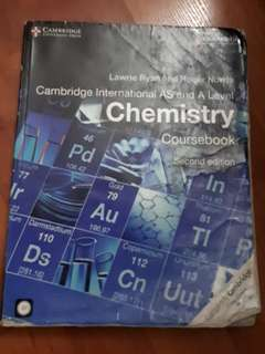 A-Level Cambridge Chemistry Book