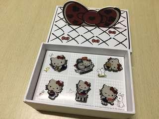 一田Hello Kitty襟章全套連盒限量版