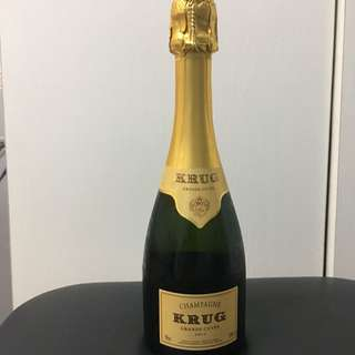 Champagne krug  half bottle