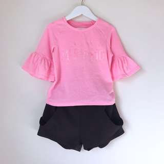 """""""MAYBY IM A MERMAID"""" Girls top size 5"""