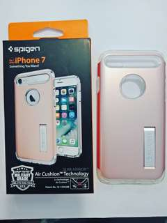"""AUTHENTIC SPIGEN CASES FOR. IPHONE 7 AND 7+ """"Brand new Serial code intact) Limited stocks"""