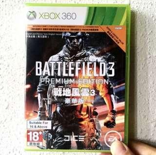 BATTLEFIELD 3 PREMIUM- Xbox 360 Game