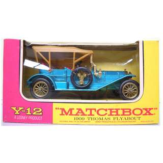 Lesney's Matchbox Y-12 1909 Thomas Flyabout (Models of Yesteryear Series)  * Original Super Vintage Set - Released in 1967 * Excellent Condition by Vintage Standards  (Diecast Vintage Car Collectible)