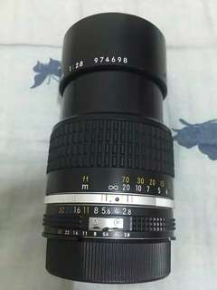 🚚 Nikkor 135mm f2.8  manual,for nikon