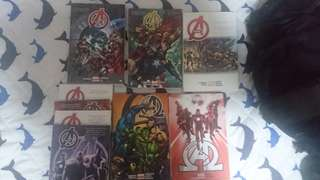 Avengers by Jonathan Hickman Hardcovers complete run