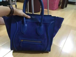 90% new Celine mini luggage