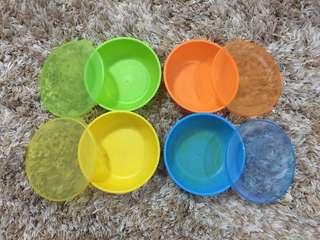 Munchkin Feeding Bowls with Lids