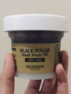 (Preloved) Skinfood Black Sugar Mask Wash Off 100GR