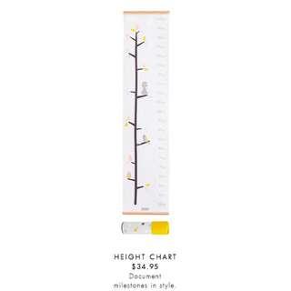kikki K Baby Height Chart