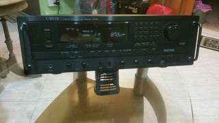 CARVER 5 Channel Dolby Pro Logic Receive HR-895 (Take Note  LCD Light some numbers  Lights Are not so bright )