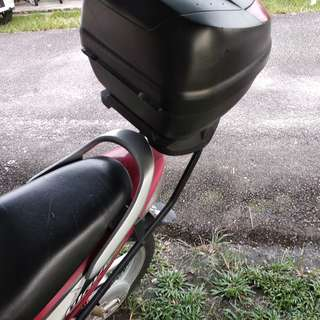 RACK HEAVYDUTY PLUS BOX GIVI for WAVE 125