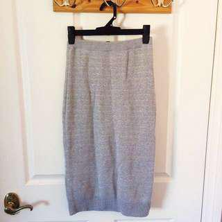 Dannii Minogue Grey/Gold Skirt BNWT