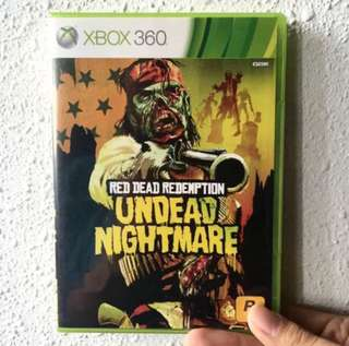 RED DEAD REDEMPTION UNDEAD NIGHTMARE- Xbox 360 Game