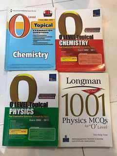 O-Level Examination Questions, Physics and Chemistry