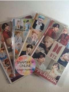 Kpop Boy Group Notebooks