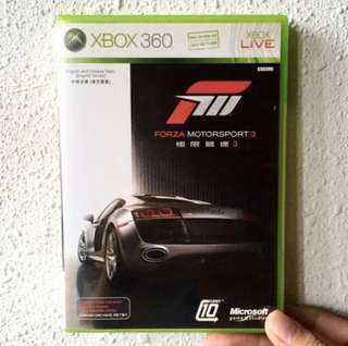 FORZA MOTORSPORT 3- Xbox 360 Game