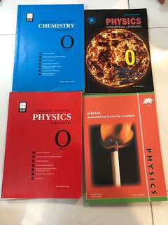 Physics and Chemistry O-Level Textbooks