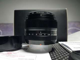 Fujinon XF 35mm F1.4 Like New FFID Nov18 Bonus Ada Minus