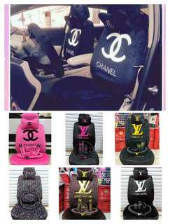Chanel,Gucci or LV Car Seat Covers
