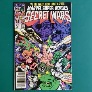 Marvel Super Heroes Secret Wars No.6 comic