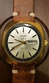 SICURA (Breitling) 17 jewels self winding
