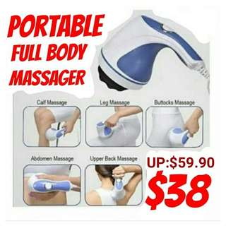 The Relax & Tone slimming, toning & relaxing body massager. Usual Price : $59.90 Offer : $38.00. PM me to collect from Khatib Mrt.