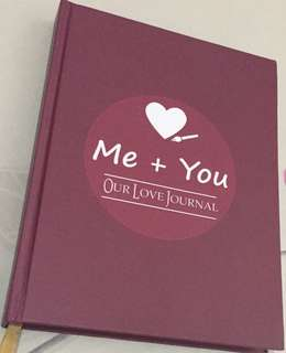 Me and You Love Journal for couples