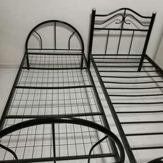 Bed Frame Metal Single Size