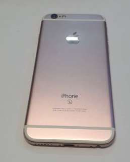 IPhone 6s 128gb rose gold 玫瑰金 very new!
